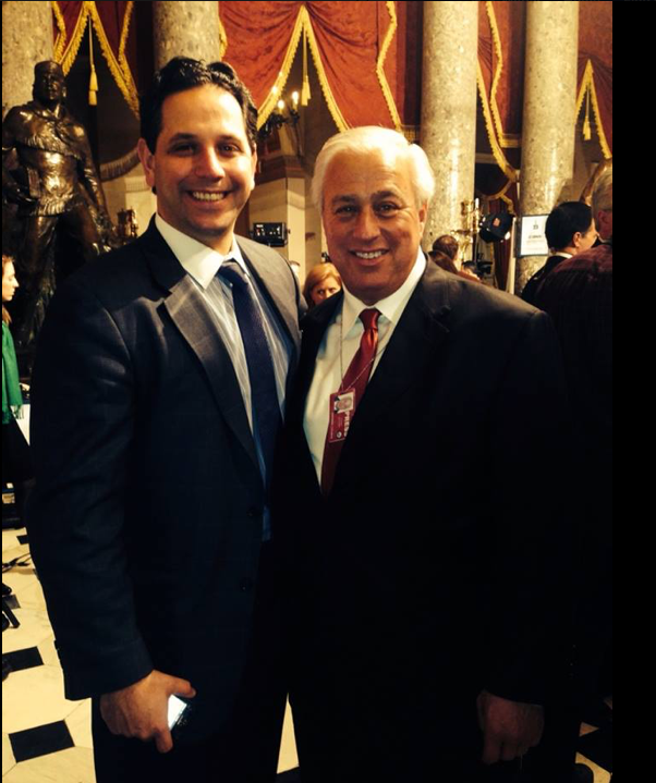 Ed Butowsky and Tony Sayegh at the State of the Union,  Tony is appointed by Trump to Treasury job