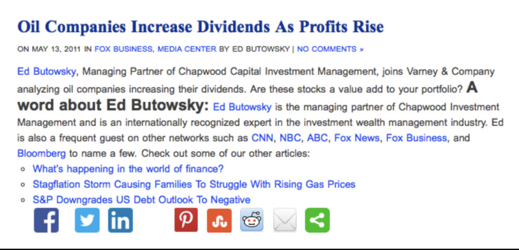 Oil companies increase dividend as profits rise