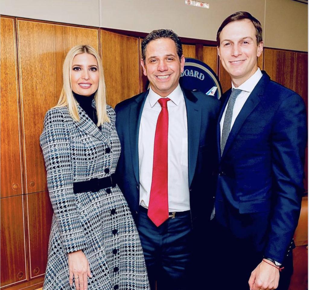 Tony with the Trumps