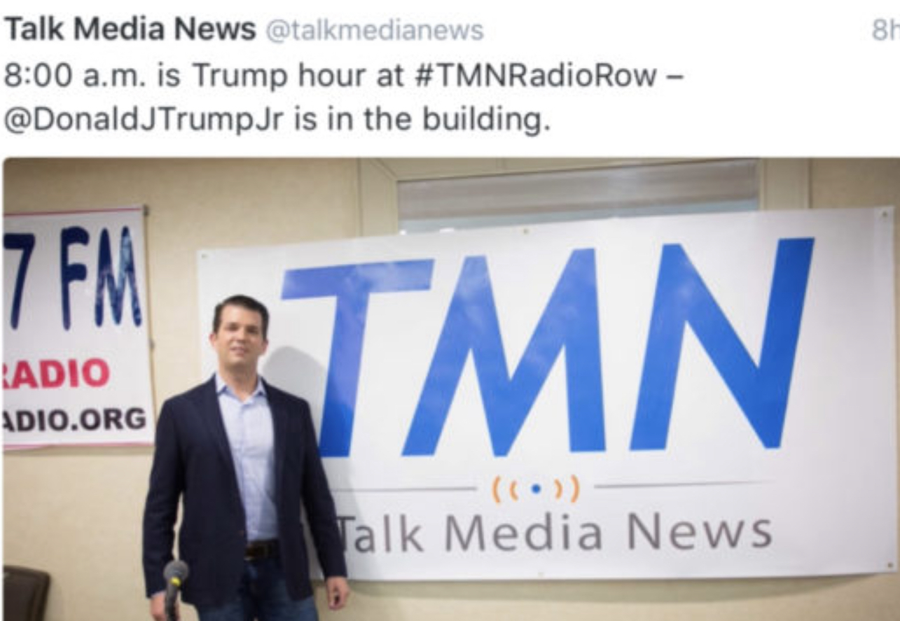 Tony Sayegh and Ed Butowsky State of the Union Ellen Ratner  / Talk Radio News Service