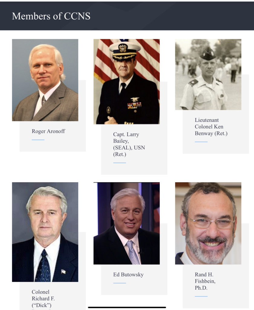 Our members have a vast array of experience in military, intelligence, diplomacy, legislation, and the media. We plan to use our various experiences to exert a significant impact on the strength and security of America.