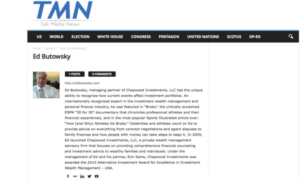 Ed Butowsky Talk Media News