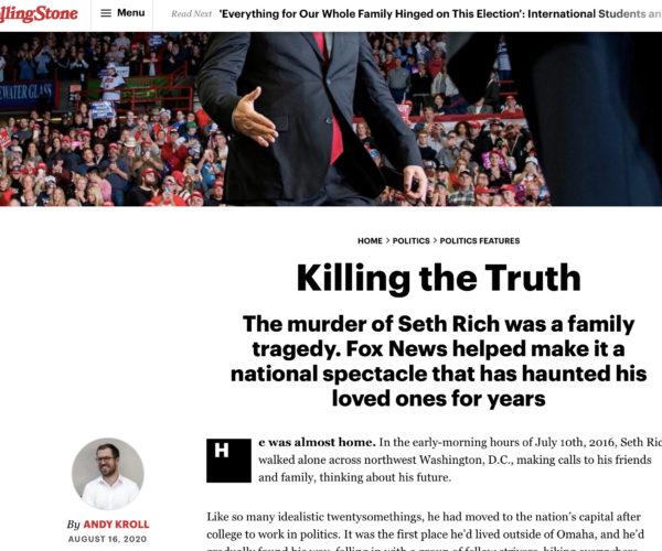Killing the Truth